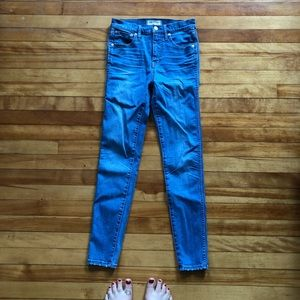 Madewell Jeans - Madewell 10'' high rise skinny jeans